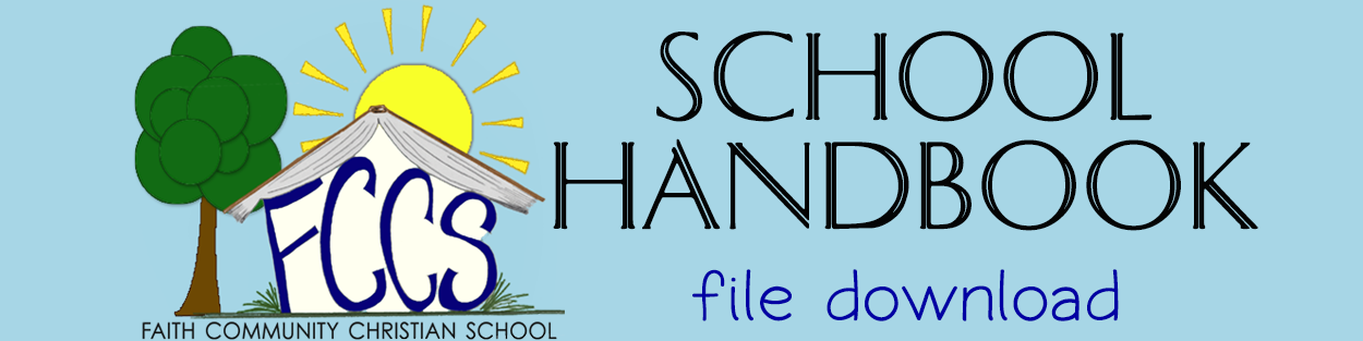 FCCS School handbook file download